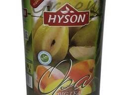 Чай зеленый Hyson Peach&Pear со вкусом груши и. ..