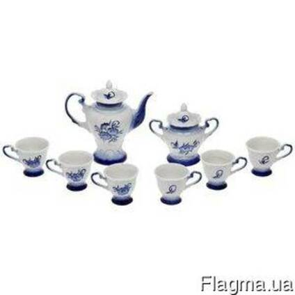 Чайный сервиз под Гжель 8 предметов