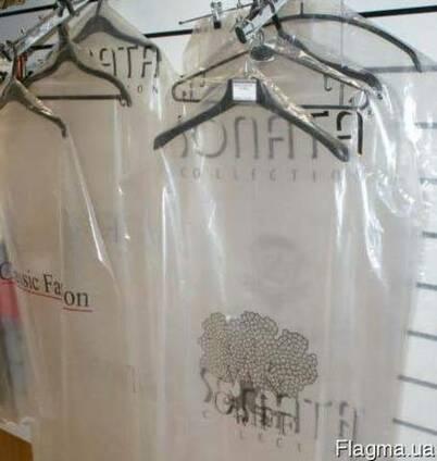 Чехлы для одежды с логотипом 65*100*20