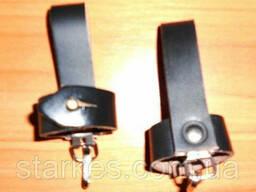 Чехлы кожаные под штык - нож, черного цвета, розница и опт, код : 553.