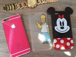 Чехлы на iPhone 6/6s чохли для айфон 6 6с case чехол силикон