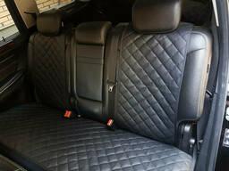 Чехлы на сиденья автомобилей задний комплект из экокожи (. ..