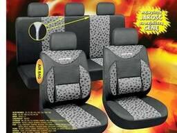 Чехлы на сиденья Milex Phantom 2пер+2задн+5подг/серые