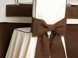Чехлы на стулья- индивидуальный пошив столового текстиля