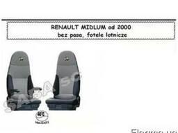 Чехлы Renault Midlum от 2000 сидения вращ. 1рем /2533