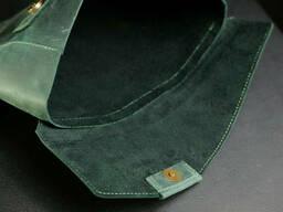 Чехол для MacBook Винтажная кожа, цвет Зеленый