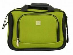 Комплект валіза + сумка Bonro Best середня зелена