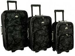 Чемодан сумка 773 набор 3 штуки орнамент