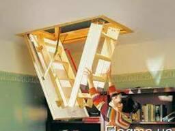 Чердачная лестница - фото 1