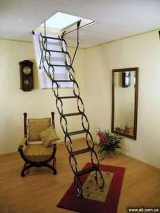 Чердачные лестница ОМАН в Днепропетровскеке