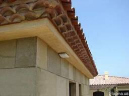 Черепица керамическая la Escandella Curved roof tileT5 teton