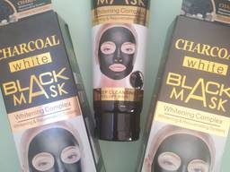 Черная маска для лица Wokali Charcoal,130ml