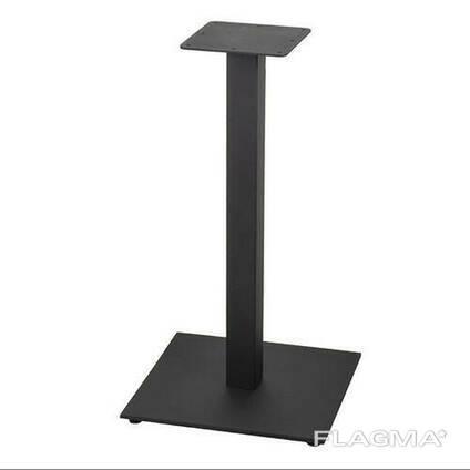"""Черные ножки для стола """"UNO"""" из металла : Отправка В День Заказа"""