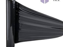 Черная Стрейч Пленка 500мм, 20мкм, 200м