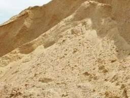 Чернозем, грунт, песок, глина.
