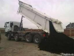 Чернозем продажа и доставка чорнозем Киев и область.