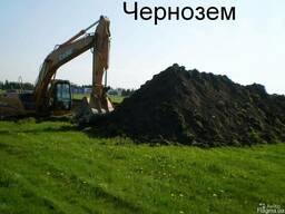 Доставка чернозема самосвалом Киев, от 10т, 15т, 30т,