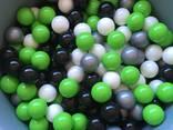Черные шарики для сухих бассейнов, мячики детские, кульки - фото 3
