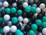 Черные шарики для сухих бассейнов, мячики детские, кульки - фото 5