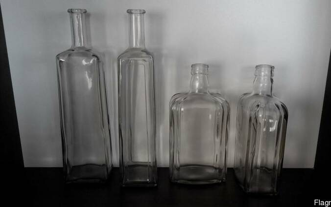 Чешские (Моравия) бутылки 0,75 л