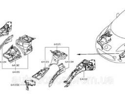 Четверть лонжерон передняя правая Nissan Leaf ZE0 (10-13). ..