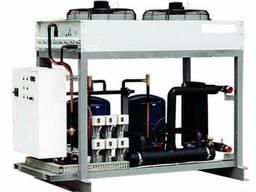Чиллер 35 кВт. Вода: вход 20С; вых 15С