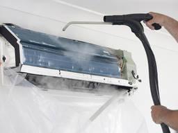 Чистка кондиционеров, ремонт, дозаправка, монтаж, демонтаж.
