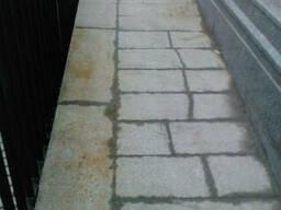 Чистка удаление ржавчины на граните и мраморе, брусчатке, пл - фото 3