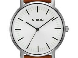 Чоловічий годинник Nixon Porter Leather SKL35-189168