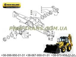 Чулок моста New Holland LB115 нью холланд корпус моста
