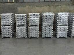 Чушка алюминиевая АК5 АК7 АК12 АК5М2 АВ87 АВ91 ГОСТ 1583-93