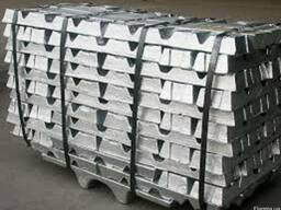 Чушка алюминиевая из сплавов АК5М2, АК7, АК12, АД3 гост цена