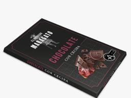 Чёрный шоколад с добавлением сыровяленой говядины