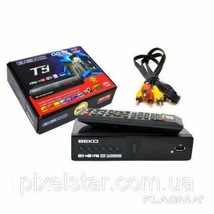 Цифровой эфирный тюнер T2 + интернет BEKO DV3-T9. ..