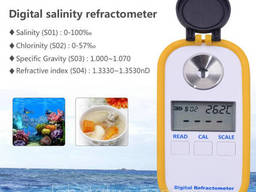 Цифровой рефрактометр DR-202 для морской воды