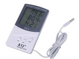 Цифровой термометр гигрометр TA 318 + выносной датчик. ..