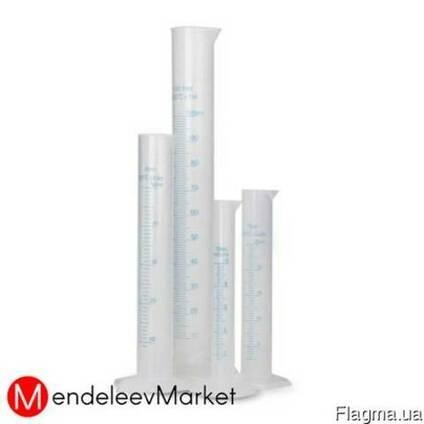 Цилиндр мерный 250мл из полипропилена