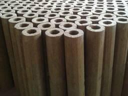 Цилиндры базальтовые, изоляция, изоляция на трубы