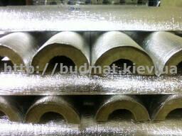 Цилиндры теплоизоляционные с покрытием фольги