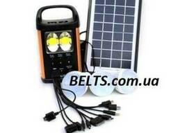 Цина.Аккумулятор GD Light GD-8031 с лампами (солнечная систе
