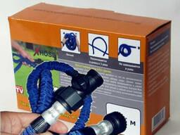 Цина. Шланг поливочный Xhose Икс-Хоз с водораспылителем