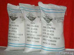 Цинк хлористый, хлорид цинка