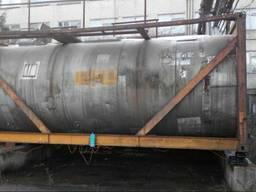 Цистерни з Нержавійки 20 м3, 5мм товщина.