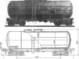 Цистерны под масло под КАС 15-1522 с выходом на РФ 32 шт