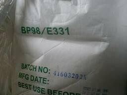 Цитрат натрия, производство Китай, фасовка мешок 25 кг