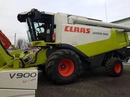 Claas Lexion 580.