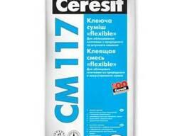 """CM-117 25 кг """"Ceresit"""" Клей для плитки """"flexible"""" 25 кг"""