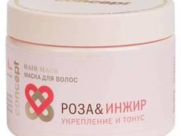 Concept 38601 Маска для волос «Роза&Инжир» укрепление и тонус 350 мл