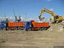 Щебень песок цемент грунт