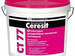 "CT-77/14 кг ""Ceresit"" Штукатурка мозаич. 14 кг зерно 1,4-2,0"